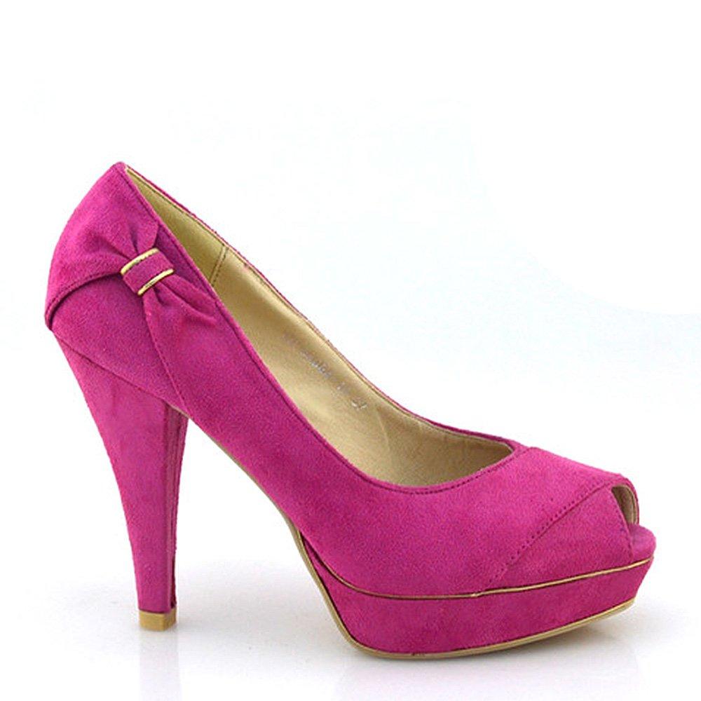 Pantofi dama Carmina fucsia