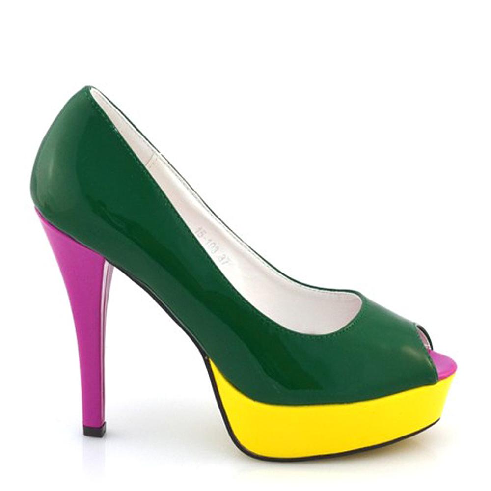 Pantofi Dama Nichita Verzi