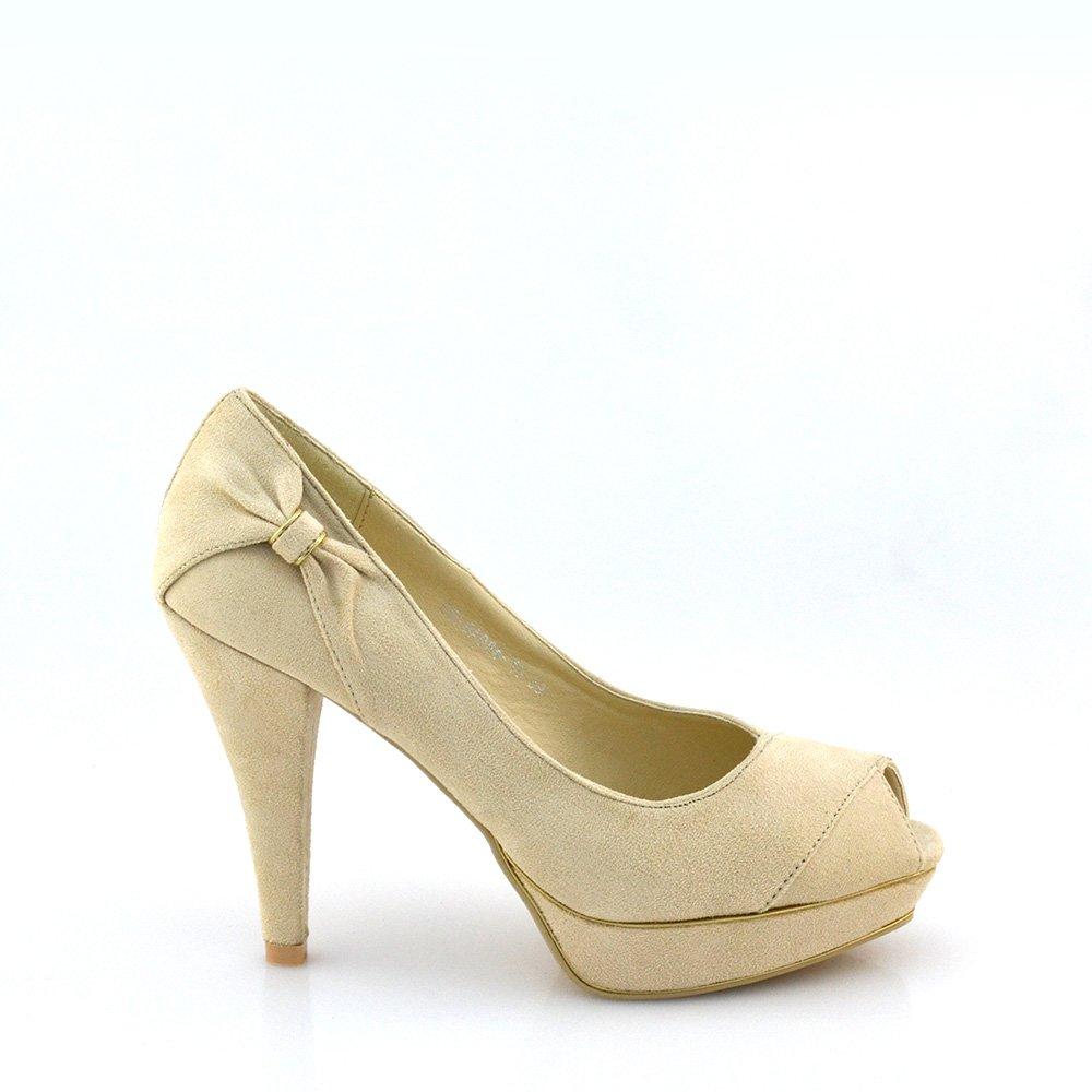 Pantofi Dama Carmina Bej