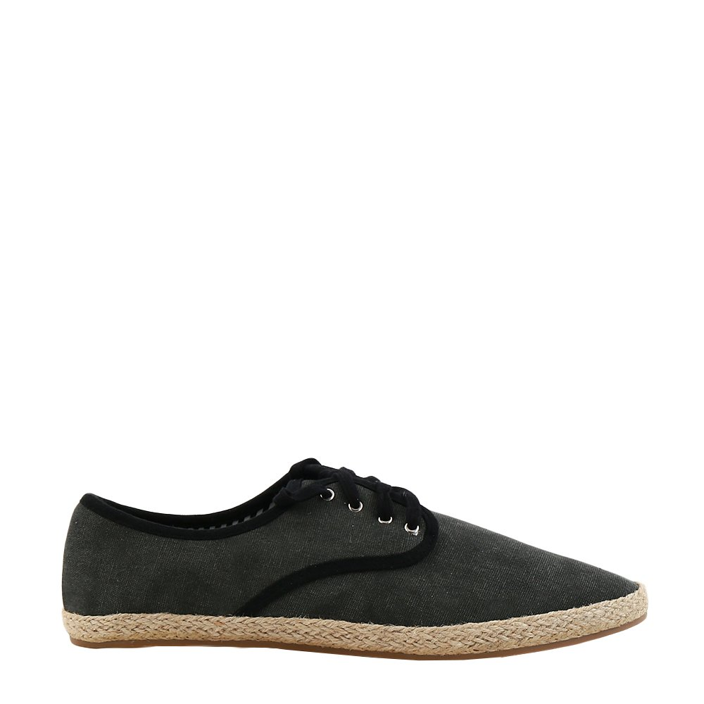 Pantofi barbati Knox gri cu insertii negre