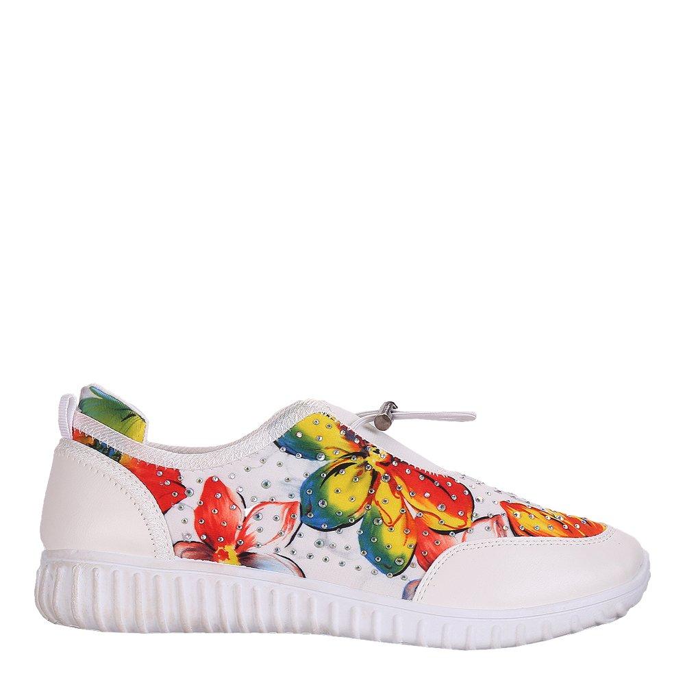 Pantofi sport dama Carmel albi