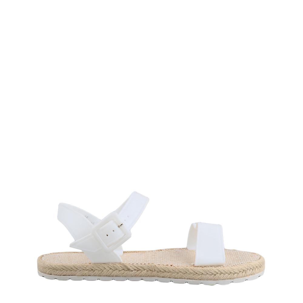 Sandale dama Hailey albe