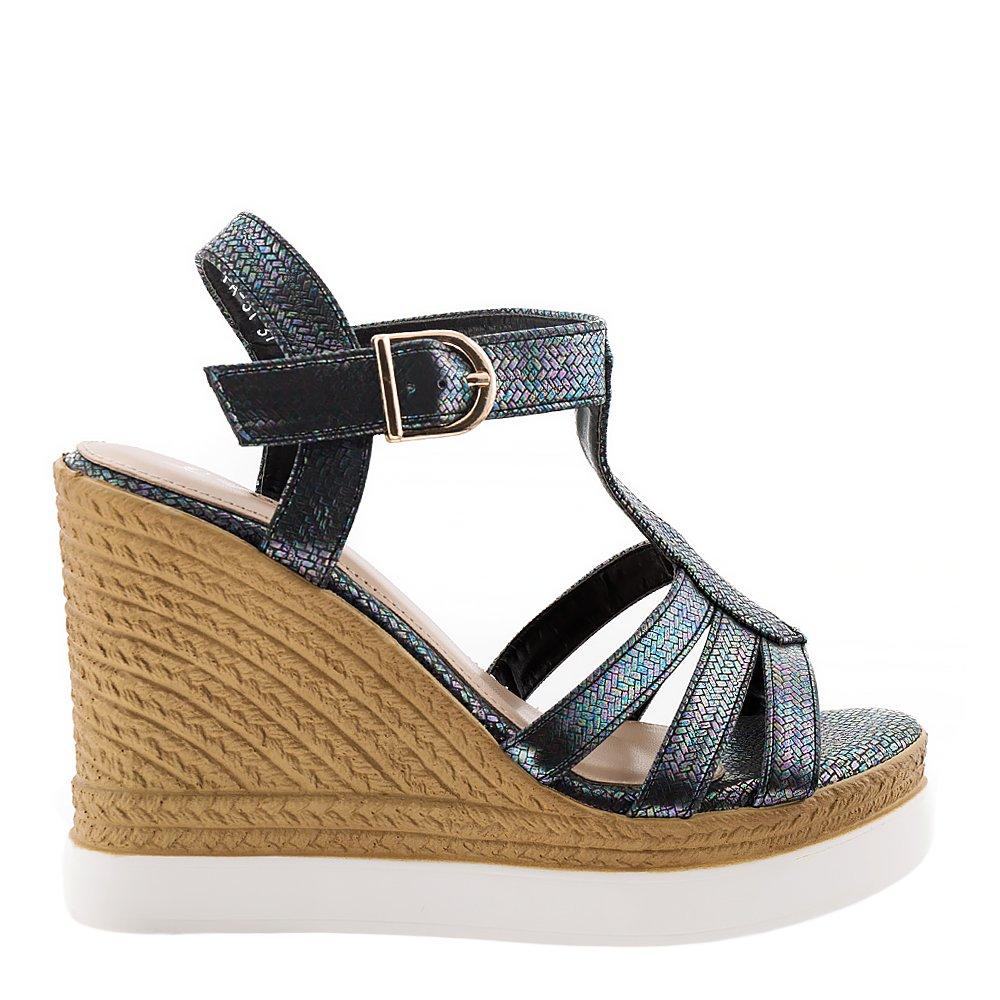 Sandale dama Vanessa negre