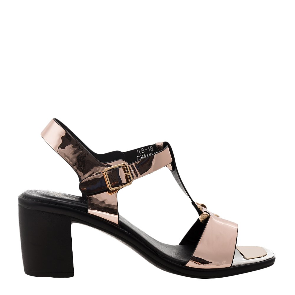 Sandale dama Caitlyn bej sampanie