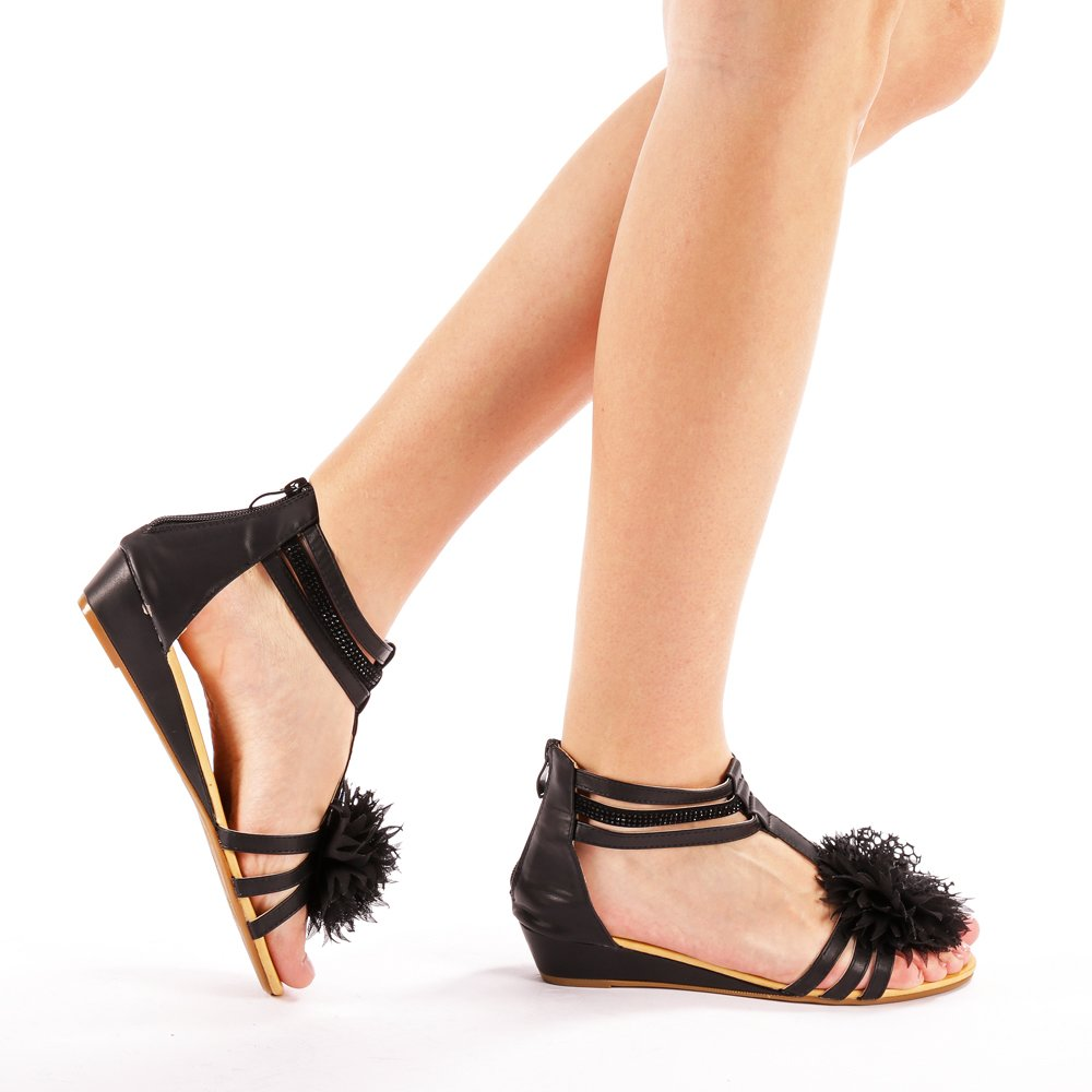 Sandale dama Reyna negre