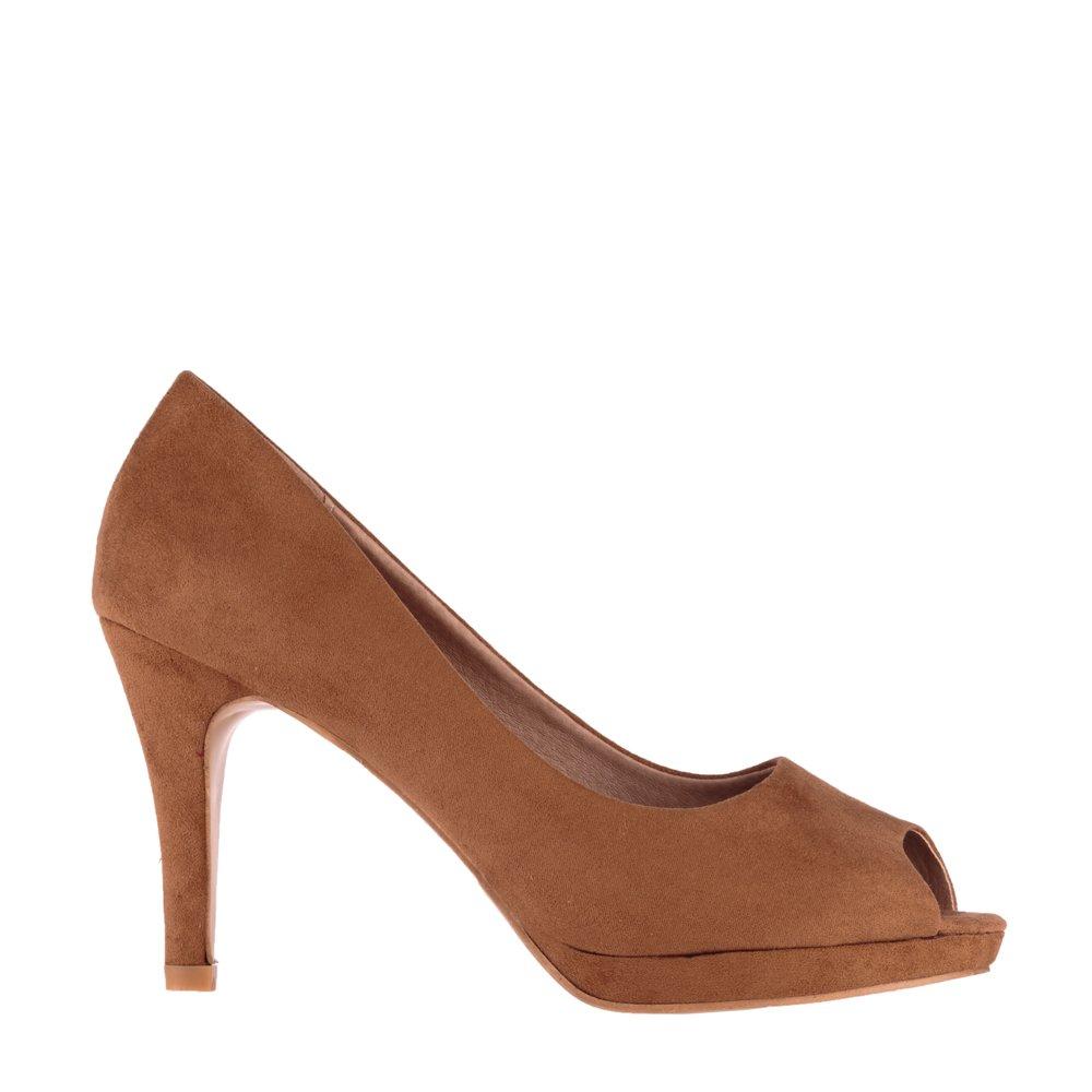 Pantofi dama Cerda camel