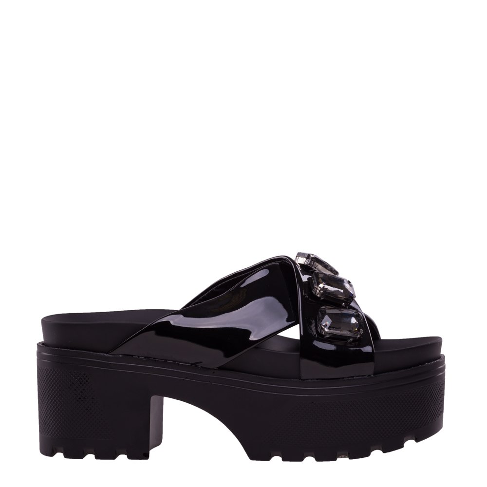 Papuci dama Dommia negri
