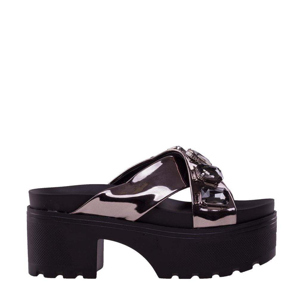 Papuci dama Dommia gri