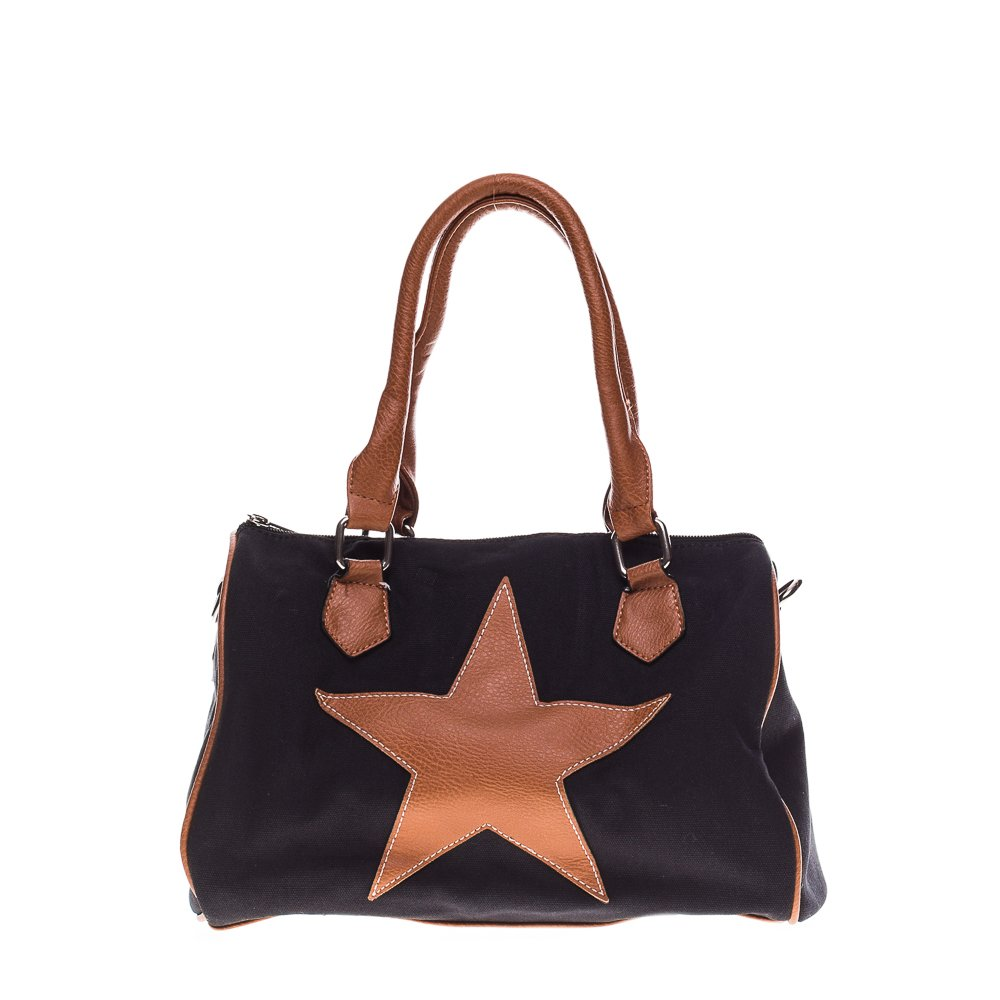 Geanta dama Star neagra