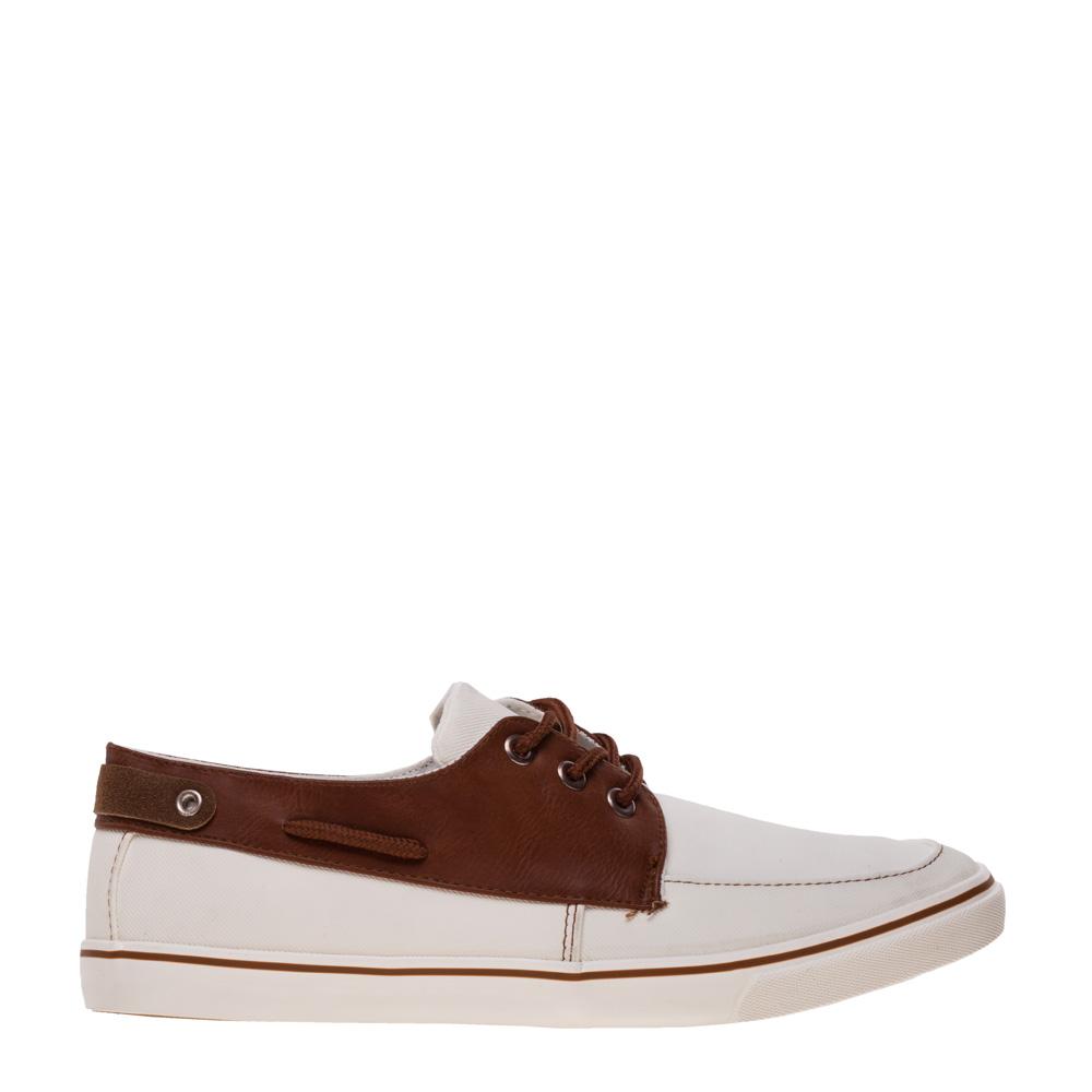 Pantofi barbati Paul albi