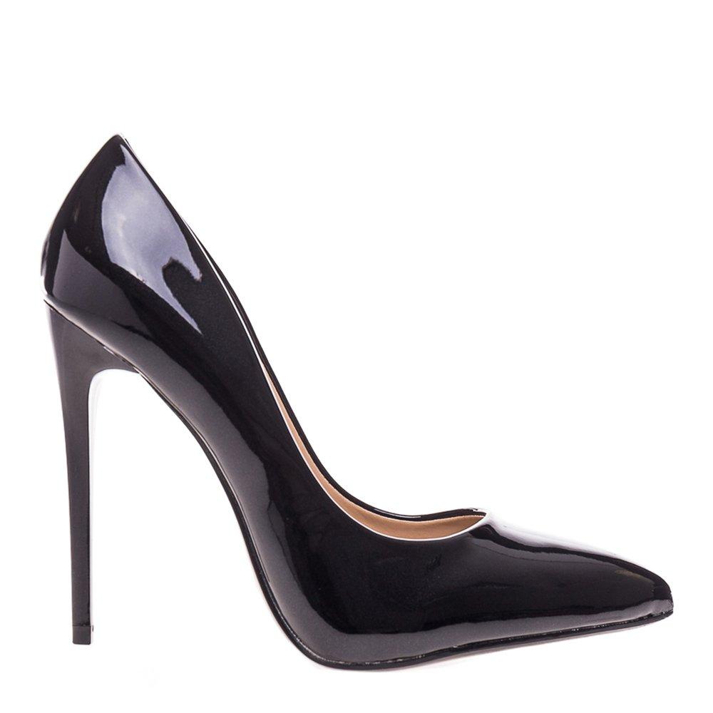Pantofi stiletto Gayle negri