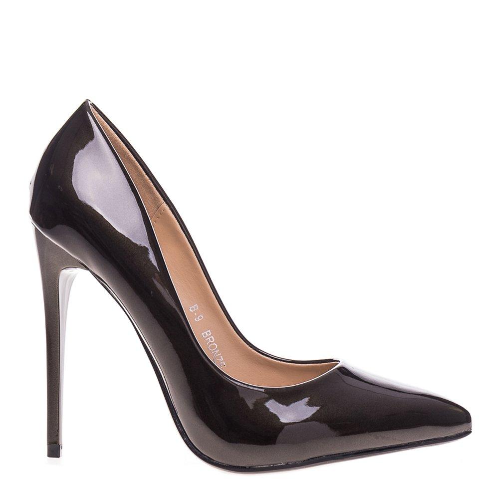 Pantofi Stiletto Gayle Bronze