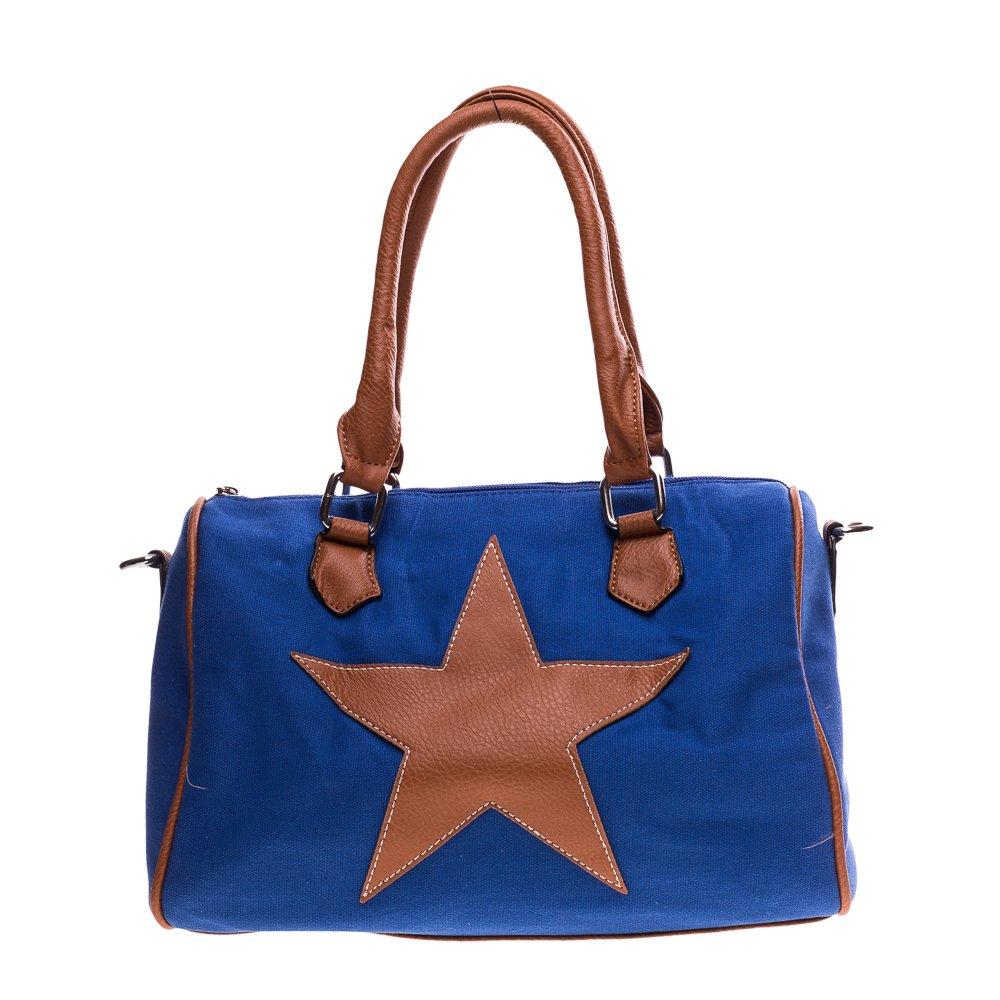Geanta dama Star albastra