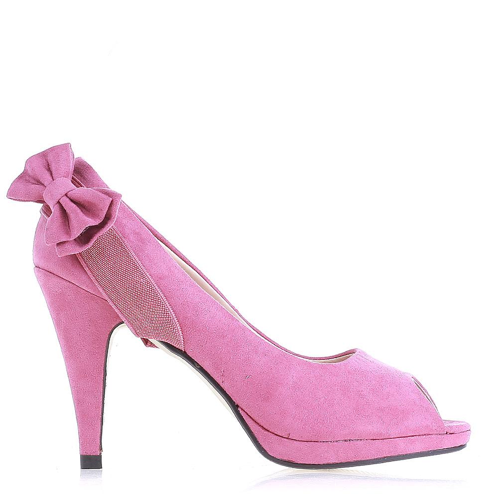 Pantofi dama Aminta fucsia