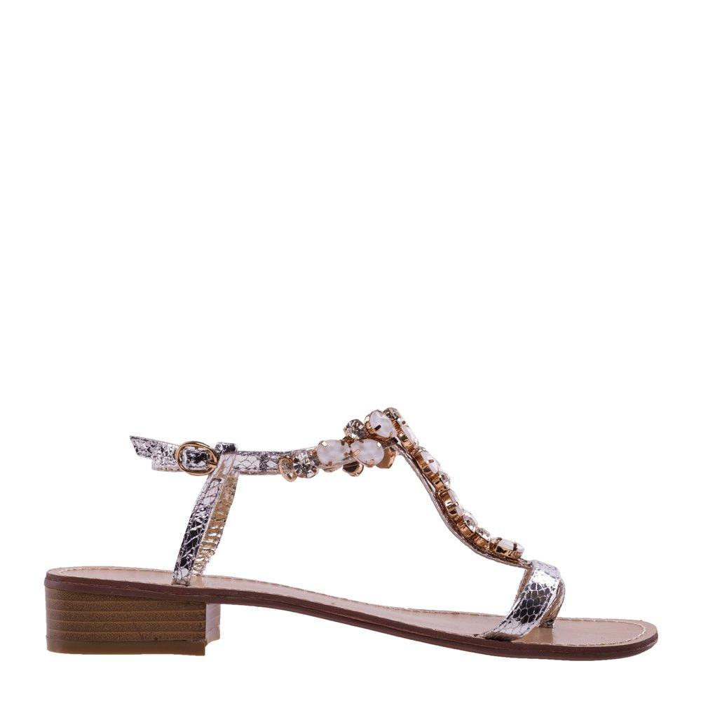 Sandale dama Leylen argintii