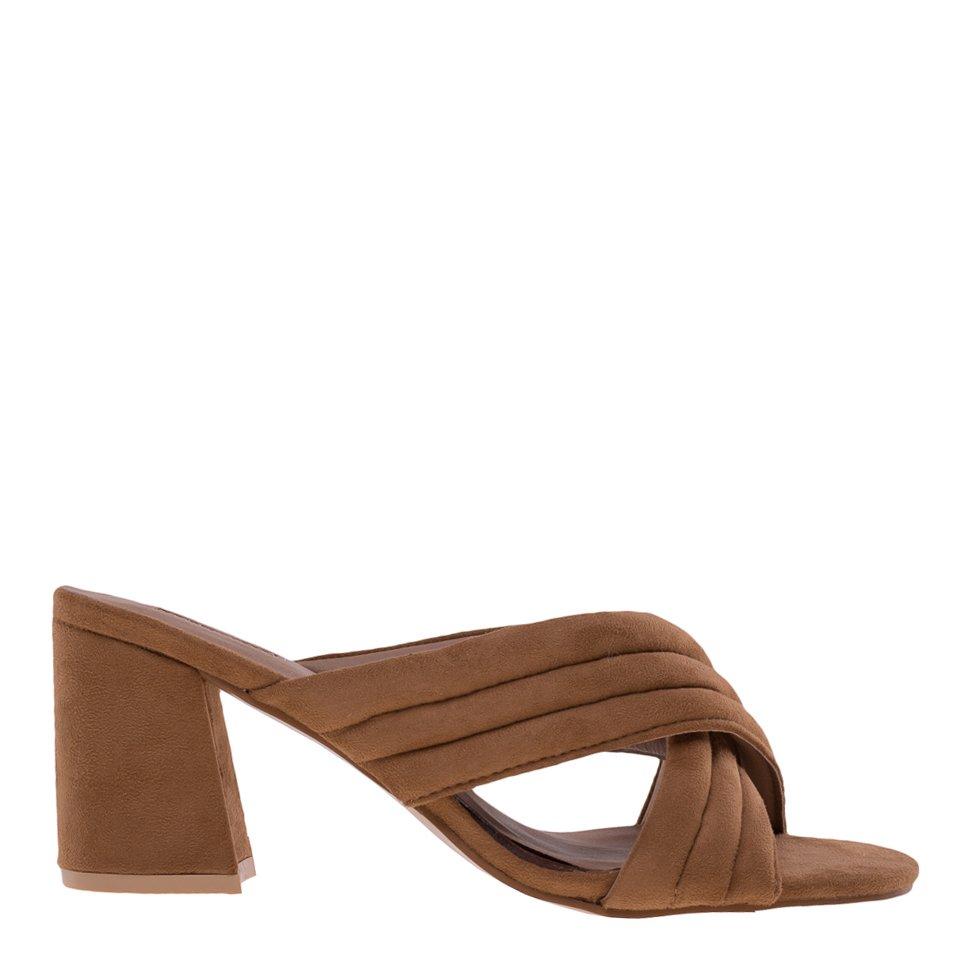 Papuci dama Rebecca camel