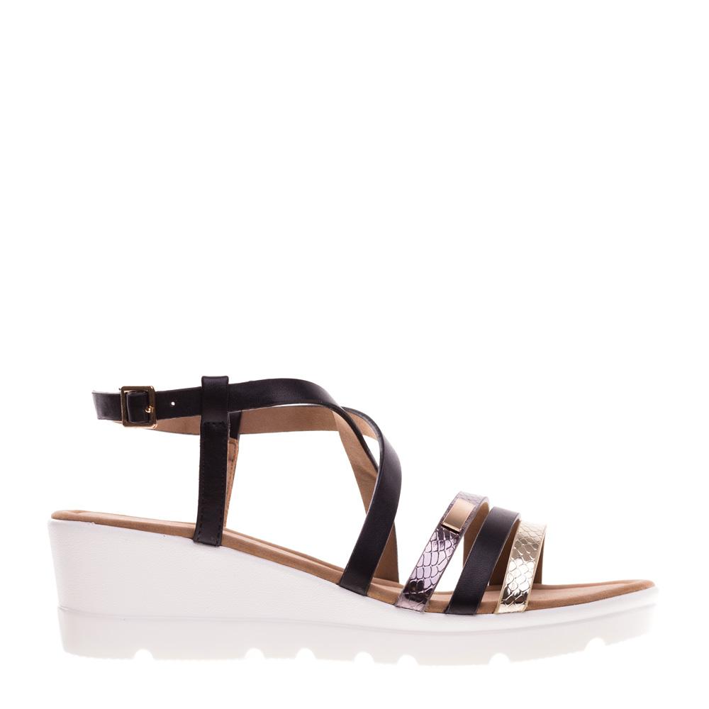 Sandale dama Cisneros negre