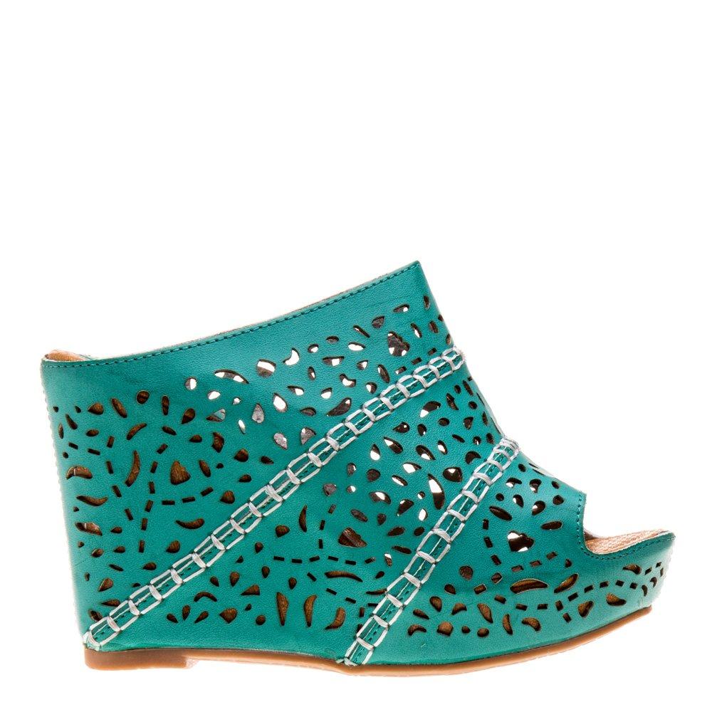 Sandale dama Margaret verzi