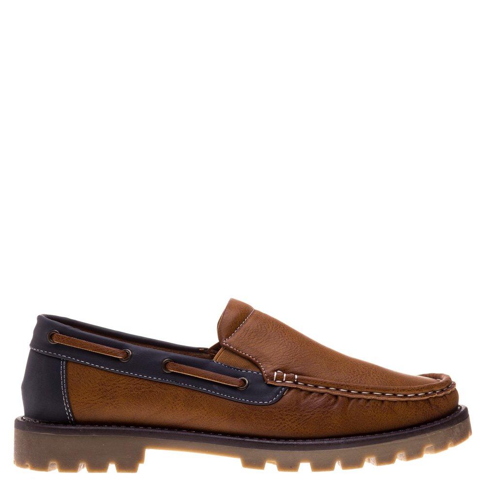 Pantofi barbati Gill camel cu albastru