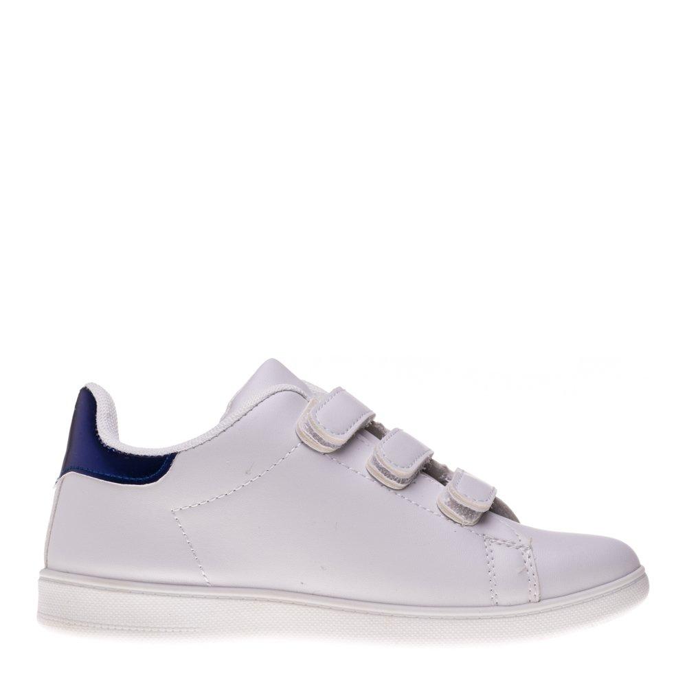 Pantofi sport copii Matei alb albastru cu scai