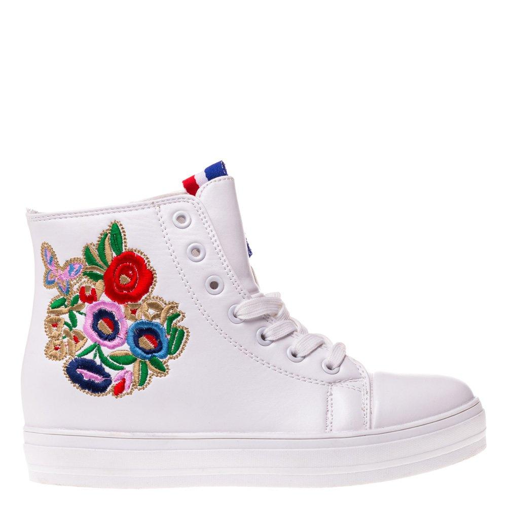Sneakers dama Emilia alb