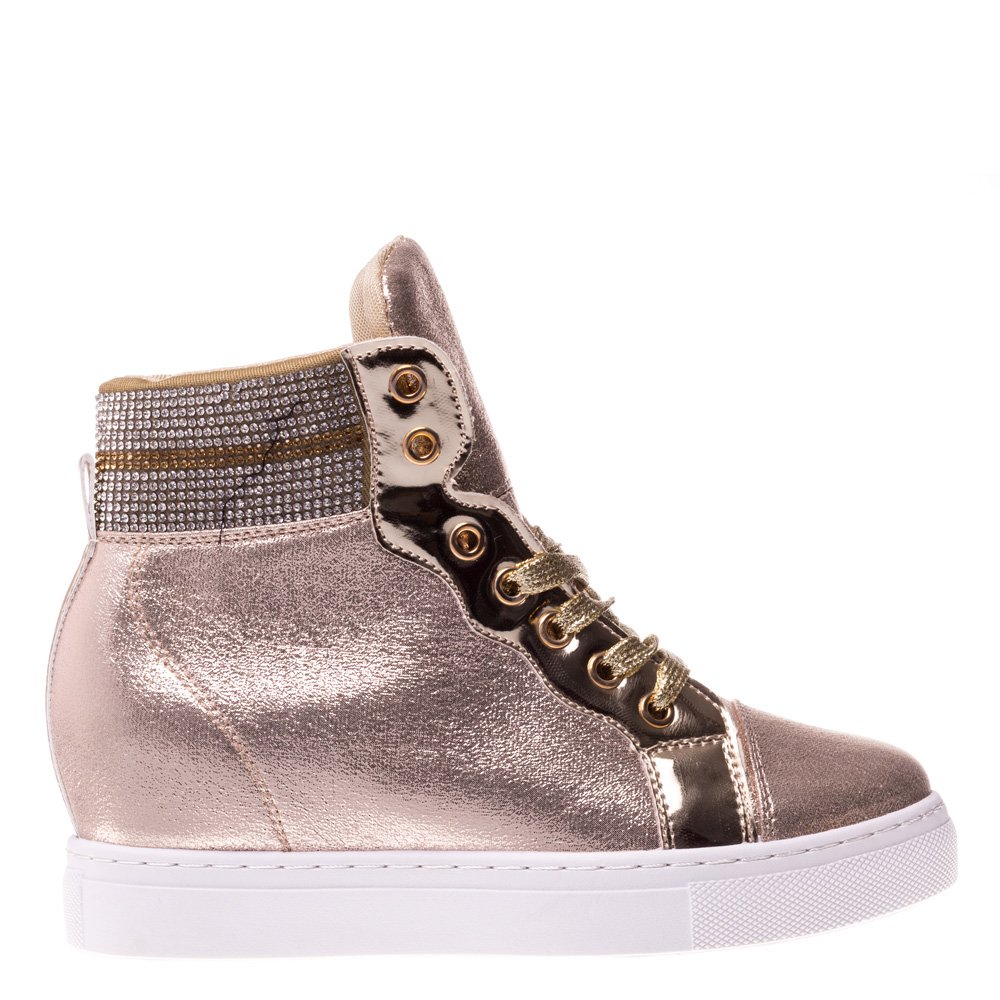Sneakers dama Claudia auriu