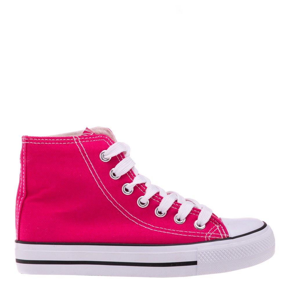 Bascheti copii Barre roz cu rosu