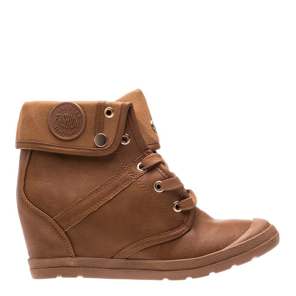 Sneakers dama Bai camel