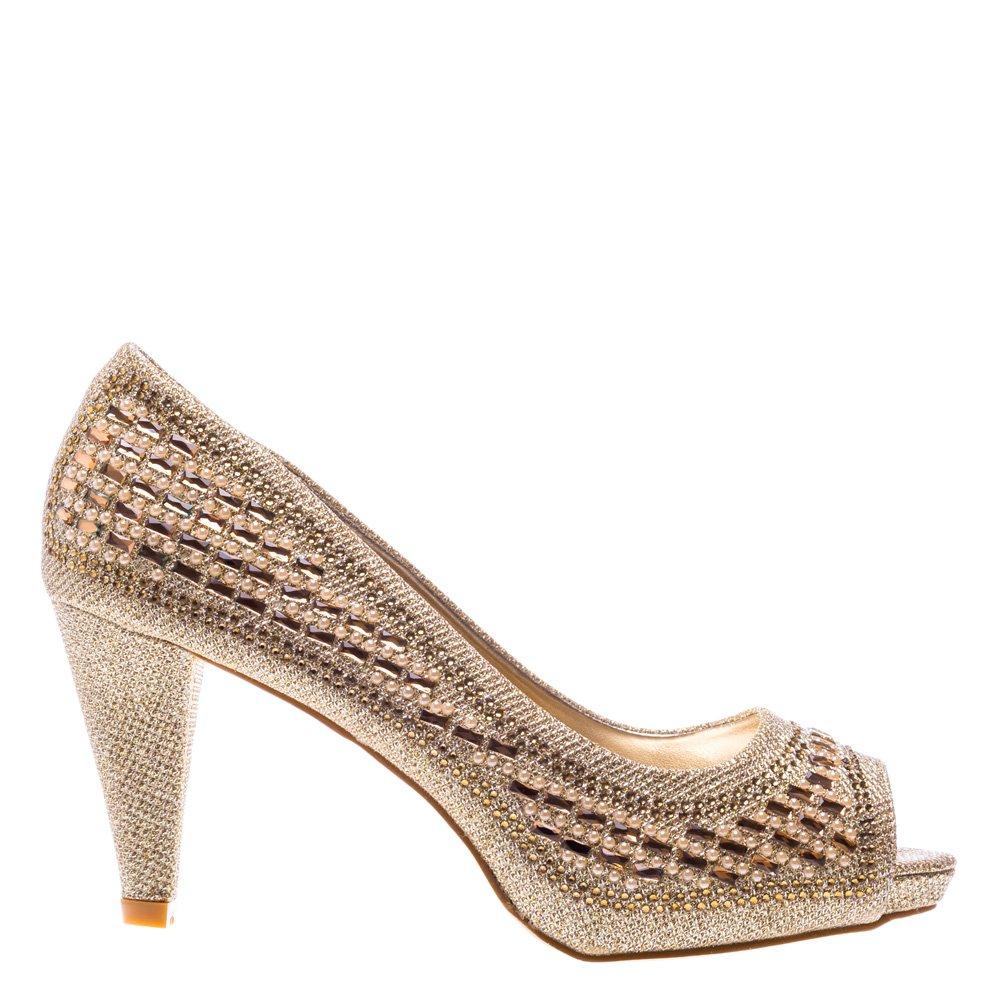 Pantofi dama Sally aurii