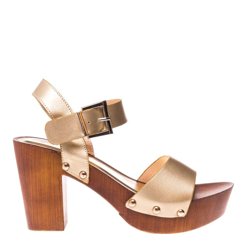 Sandale dama FC218 aurii