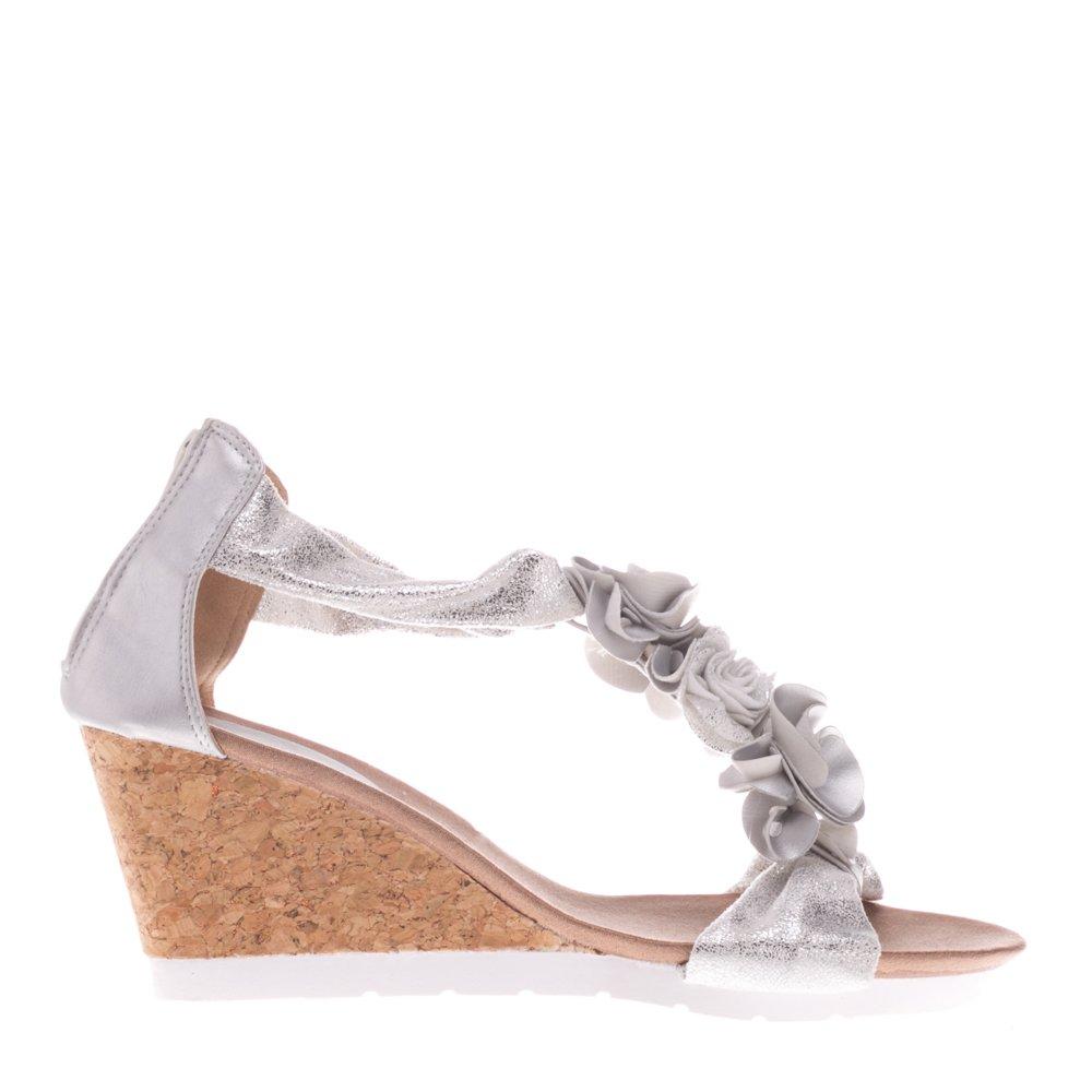 Sandale dama FC225 argintii