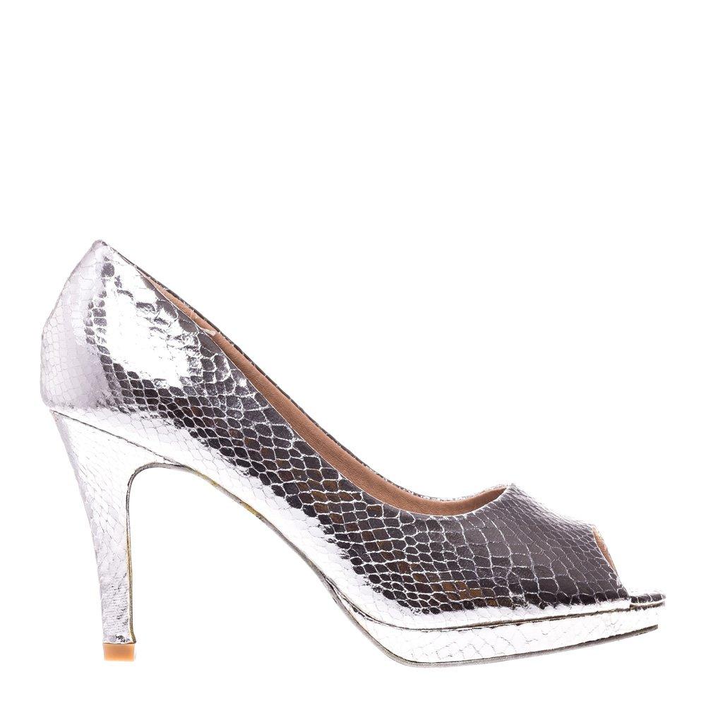 Pantofi dama Arden argintiu
