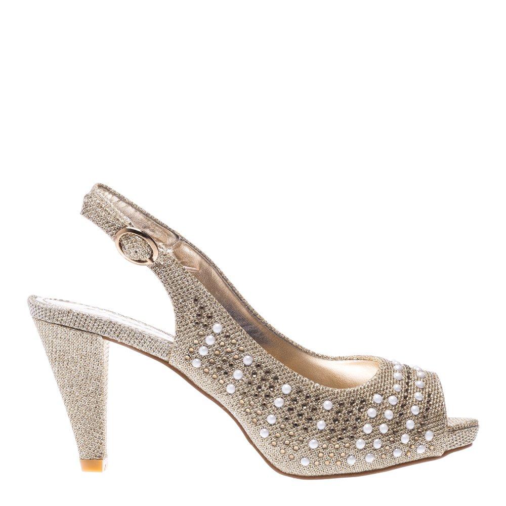 Sandale dama Suzy aurii