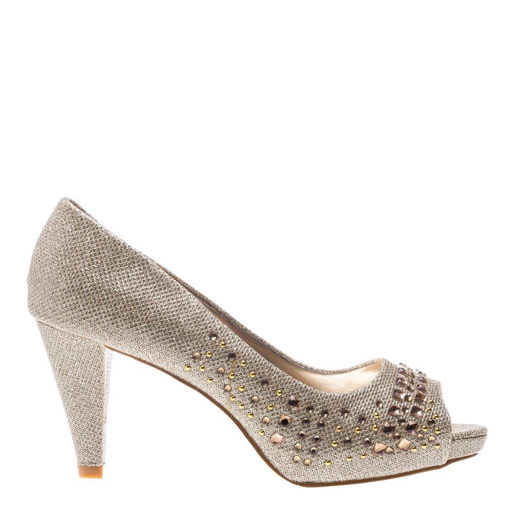 Pantofi dama Debra aurii
