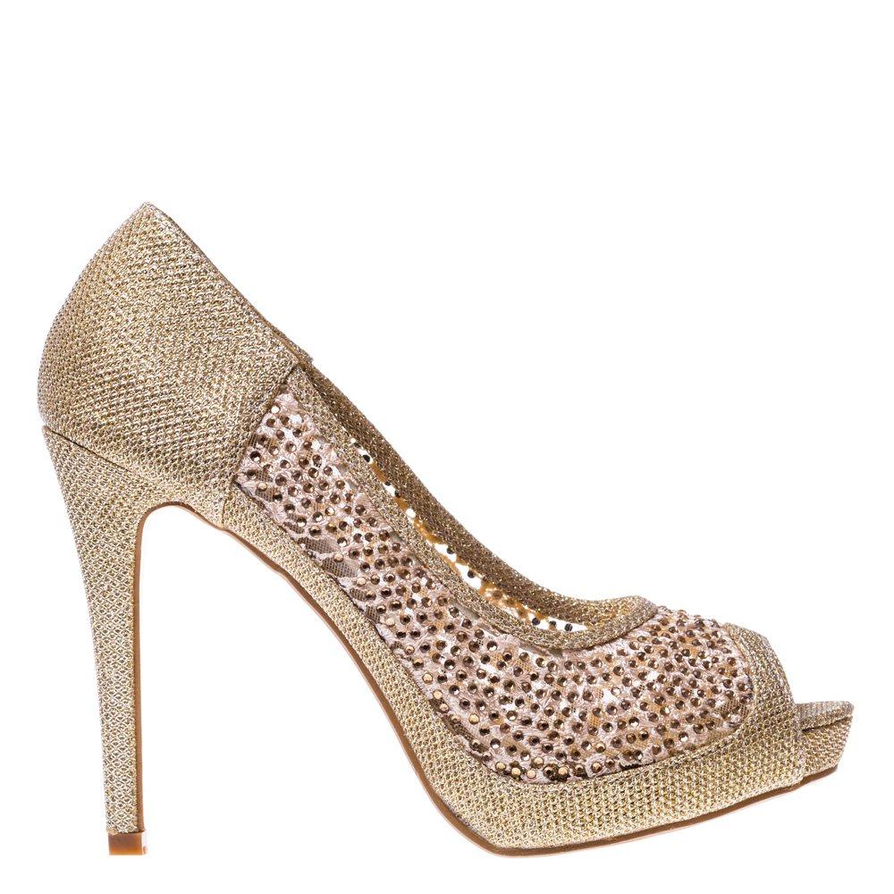 Pantofi dama Follow Me aurii