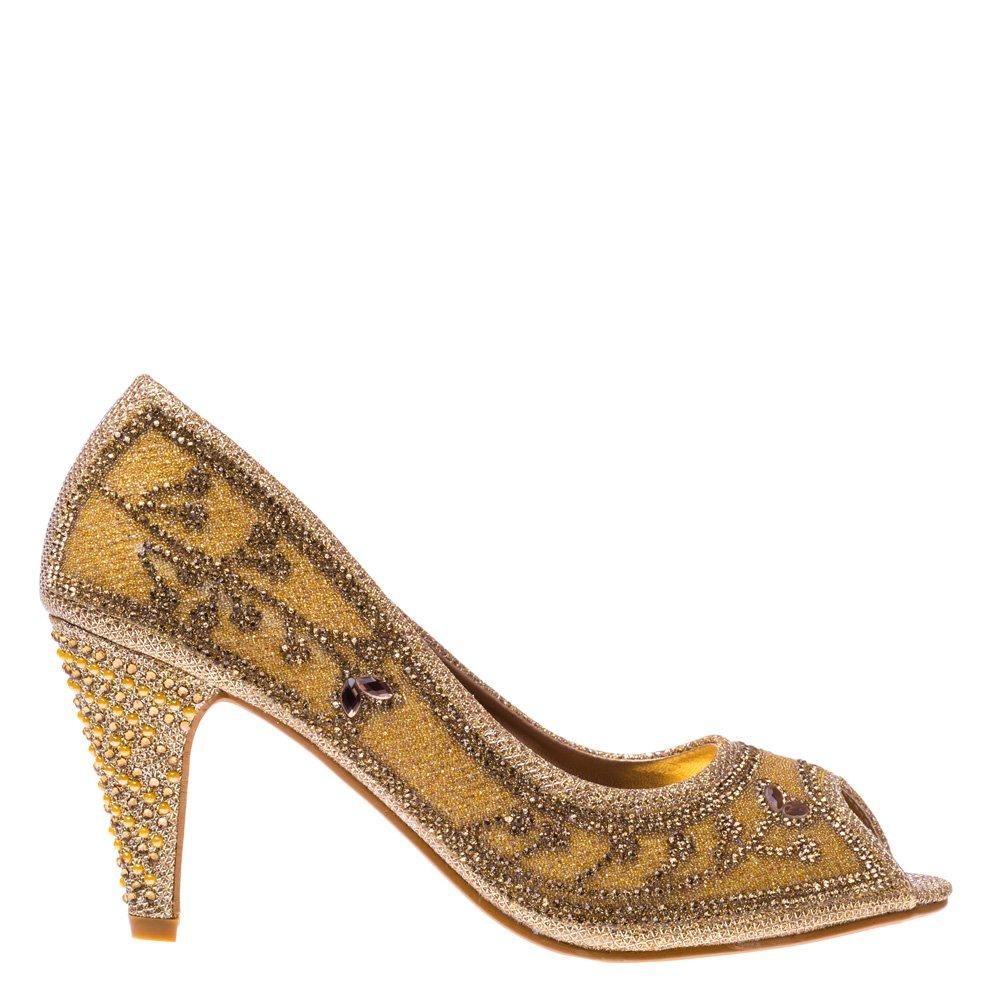 Pantofi dama Lola aurii