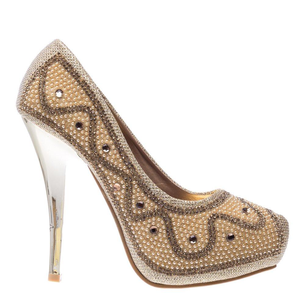 Pantofi dama Page aurii