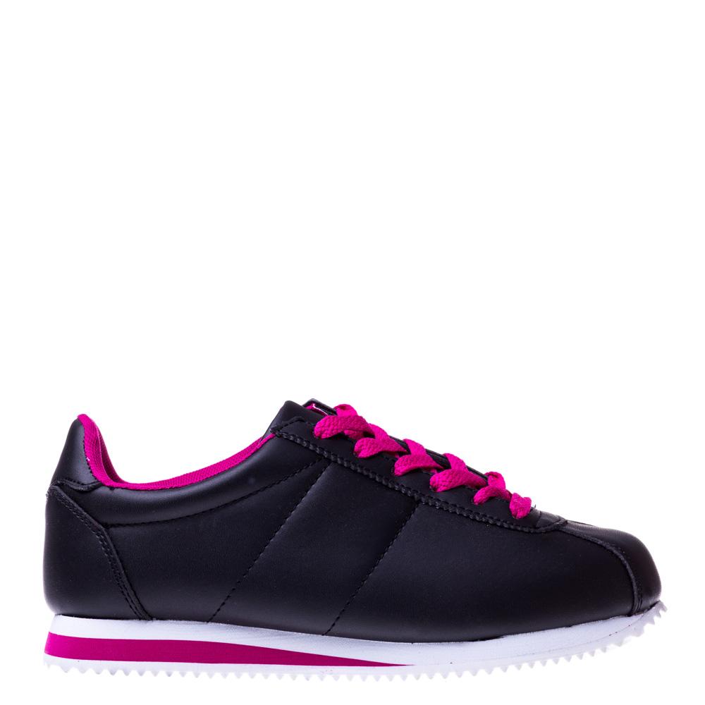 Imagine indisponibila pentru Pantofi sport unisex Kalasity negru cu roz
