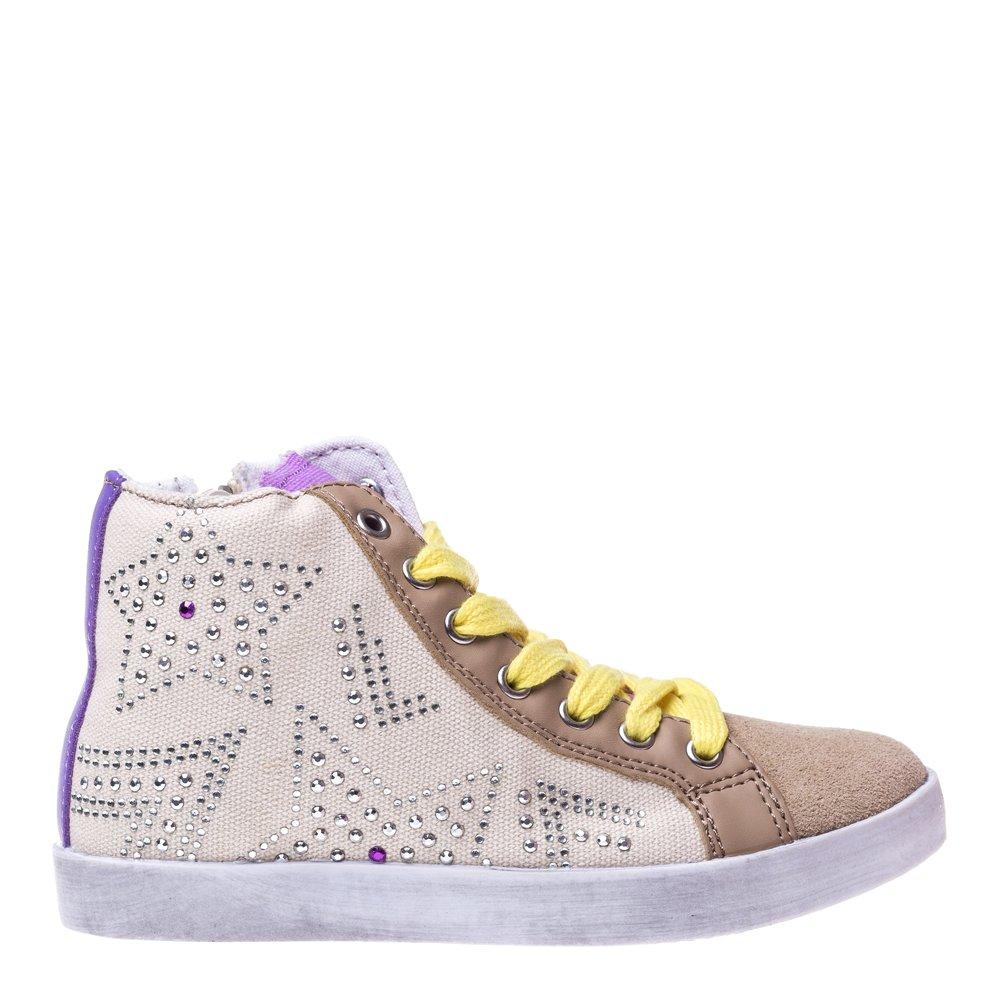 Pantofi sport copii Star 2 bej cu mov