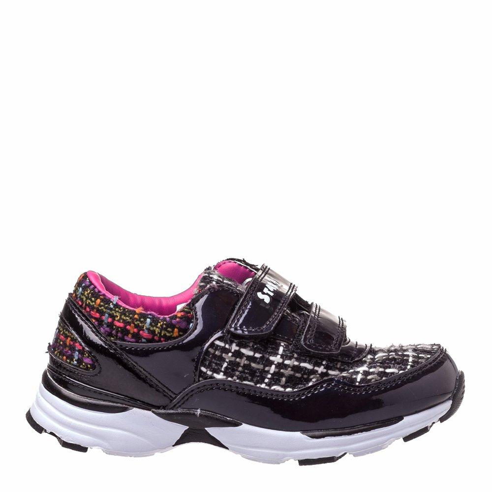 Sneakers copii Flash negri