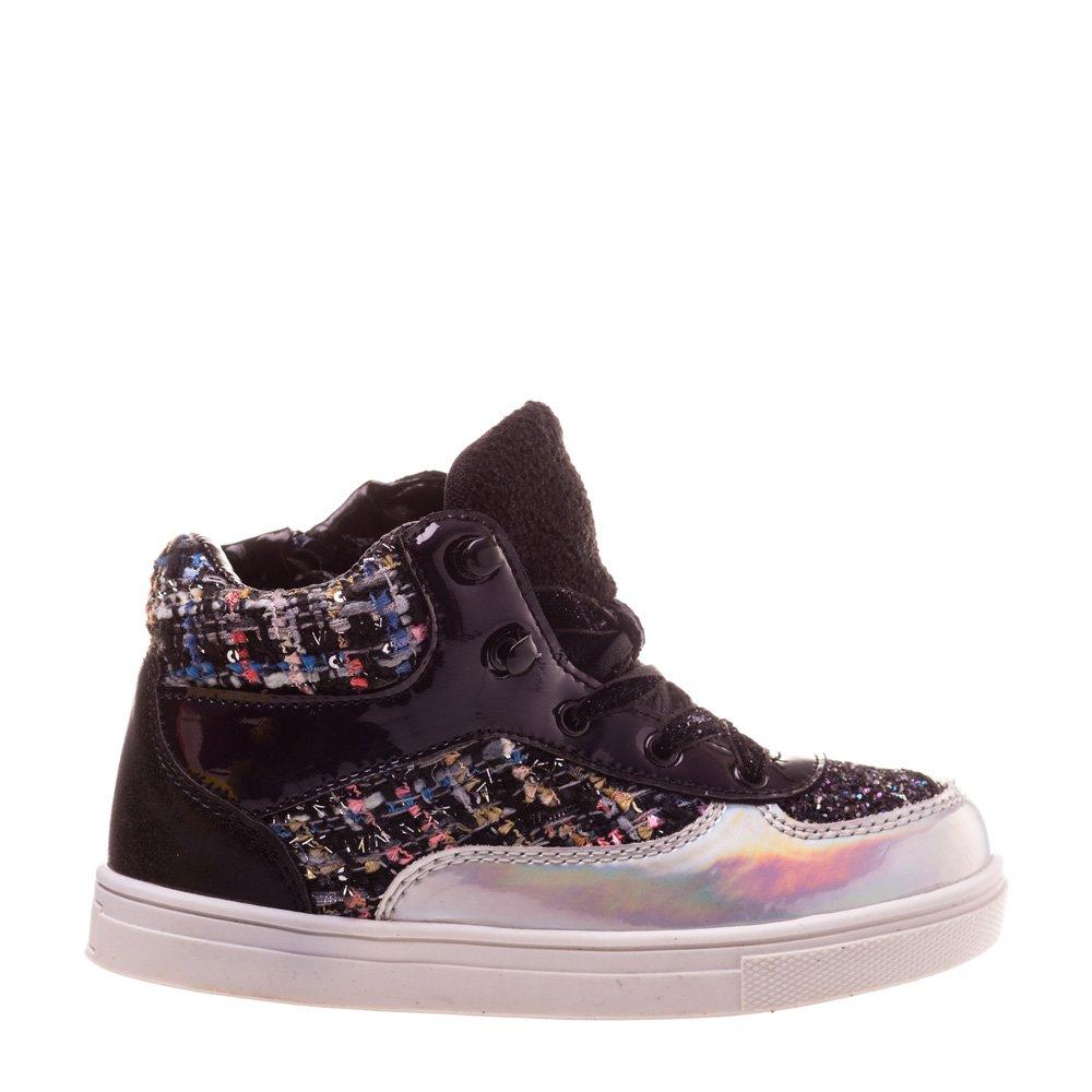 Sneakers copii Flash 2 negri