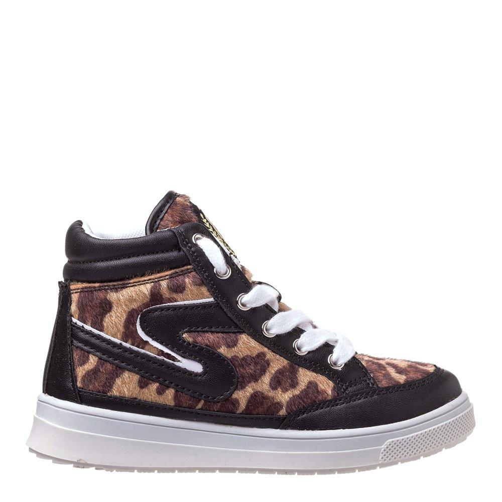 Sneakers copii Tigers negri