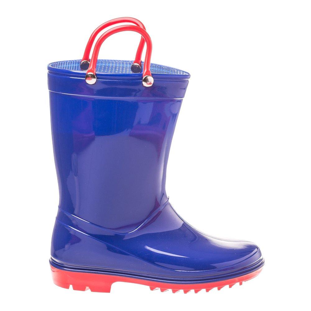 Cizme cauciuc pentru copii Rainy Day albastre