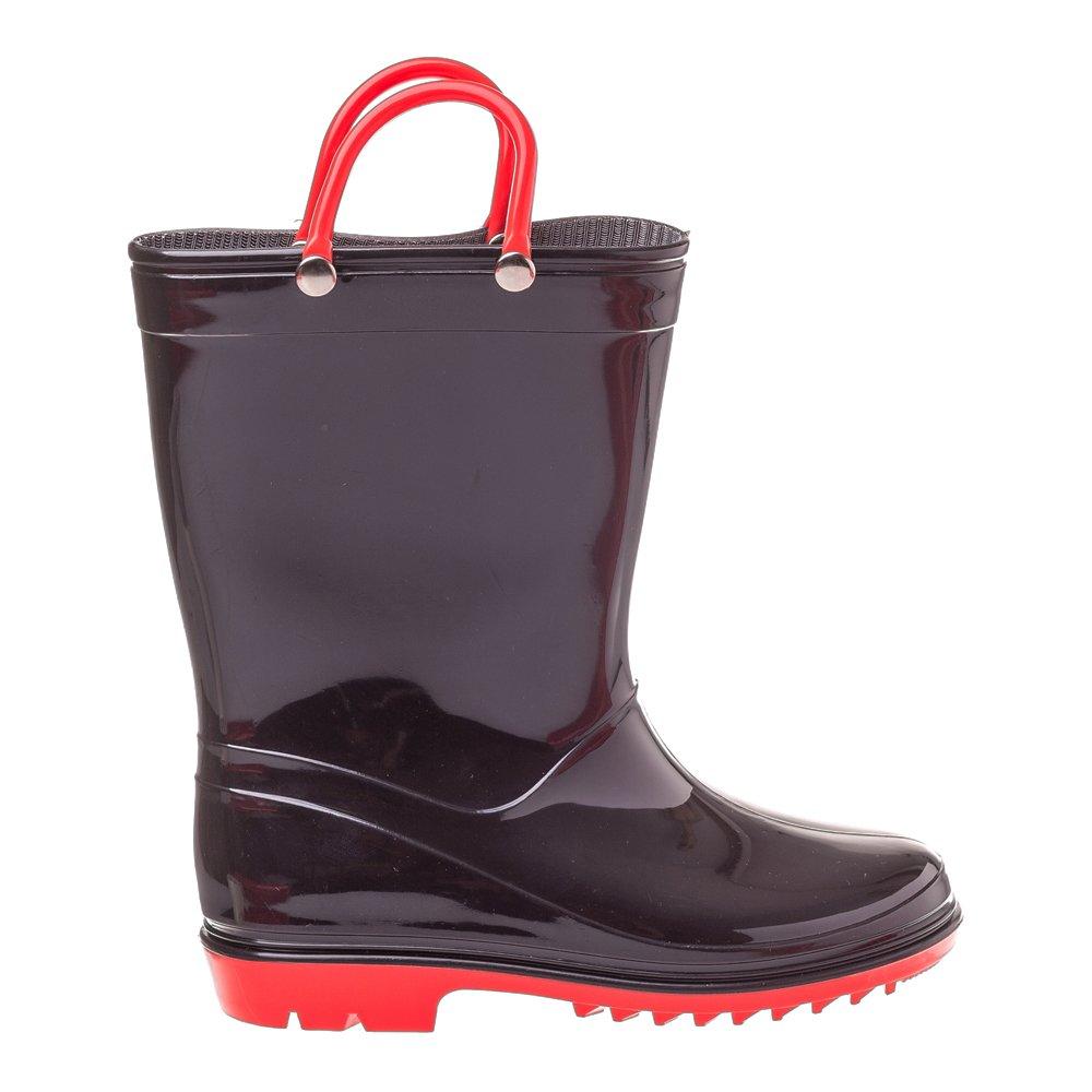 Cizme cauciuc pentru copii Rainy Day negre
