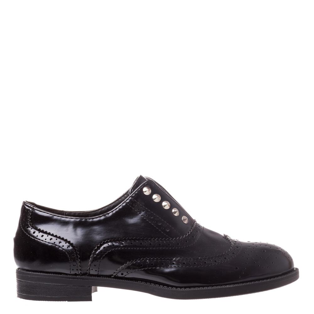 Pantofi dama Crystal negri
