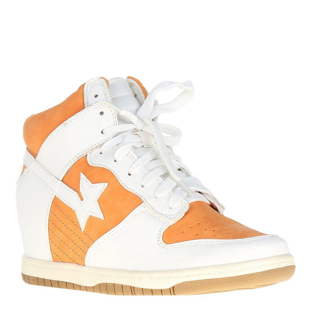 Sneakers dama Reka portocaliu