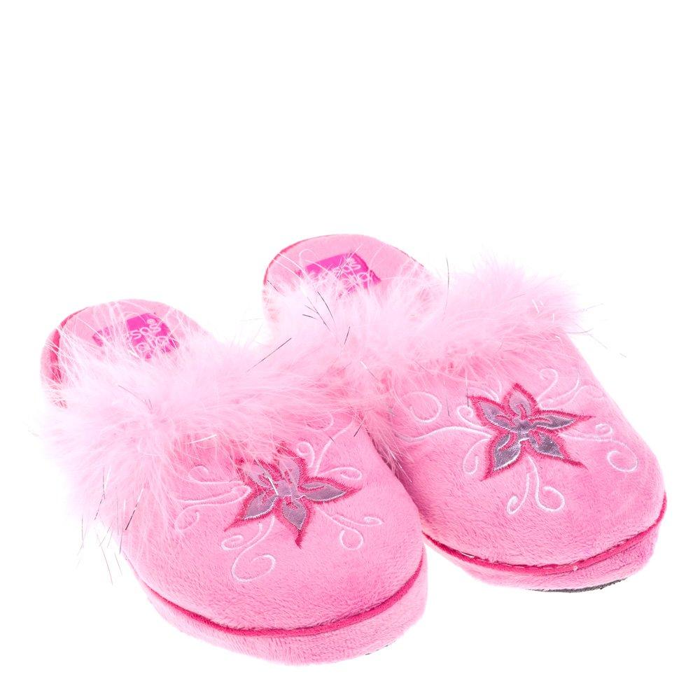 Papuci de casa pentru copii Nana roz
