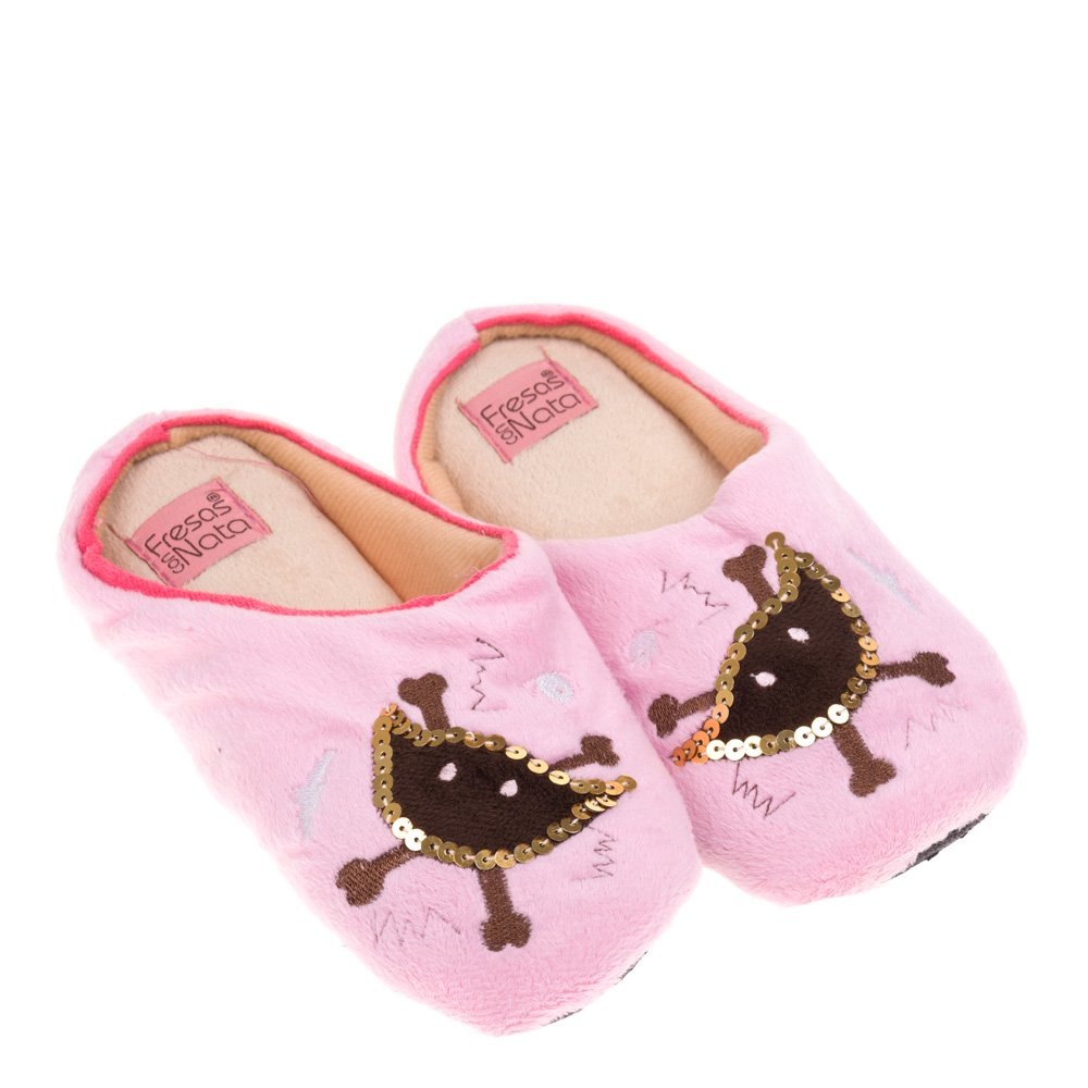 Papuci de casa pentru femei Agape roz