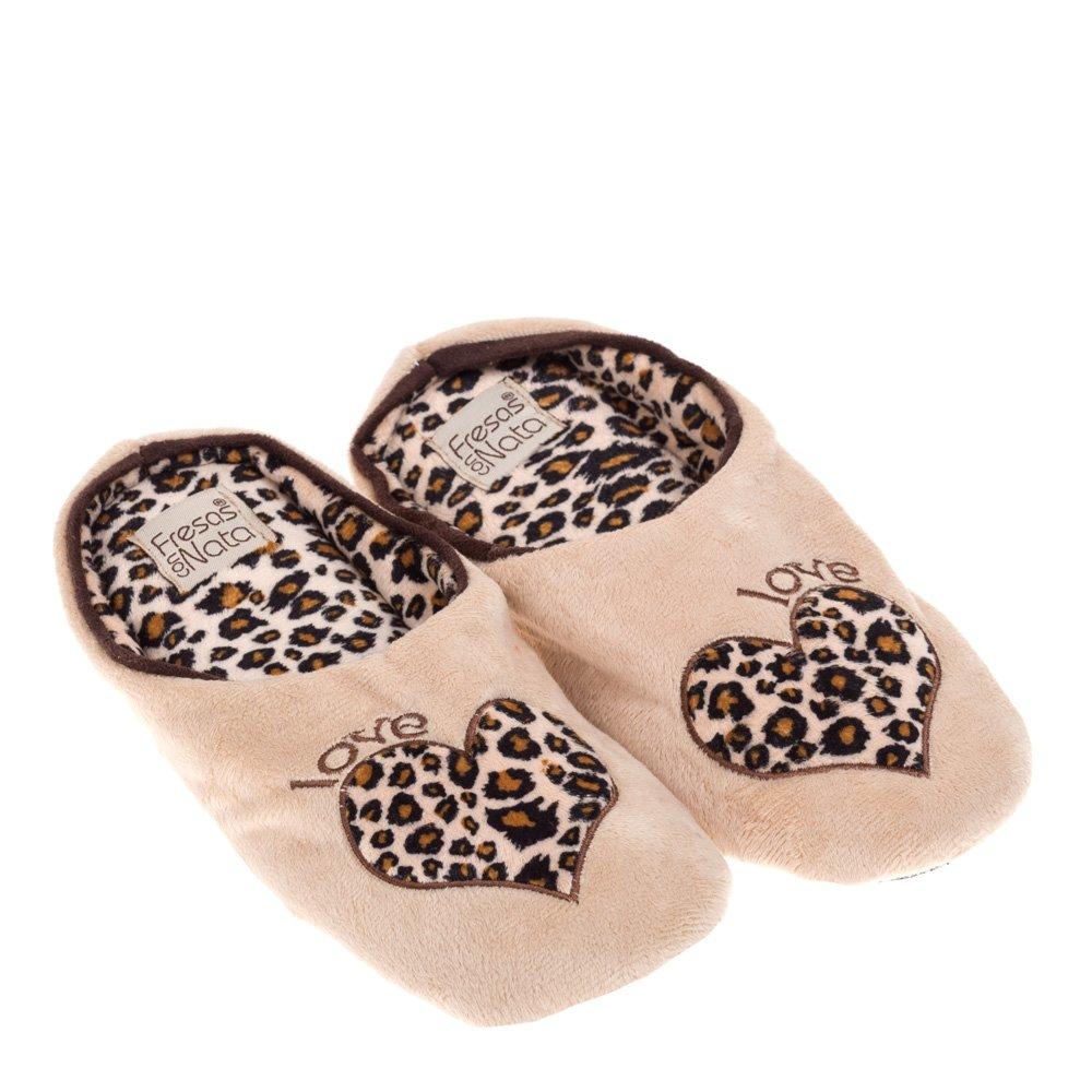 Papuci de casa pentru femei Alegra bej