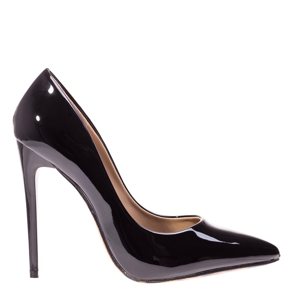 Pantofi stiletto Adelle negri